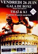 Gala de boxe Puget - Alexandre Hryb - etiopathe Cogolin - Saint Tropez - Sainte Maxime - Le Lavandou - La Londe